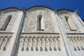Ornament dmitrievsky katedrály ve vladimiru, 1194-1197 let. zlatý prsten z ruska. — Stock fotografie
