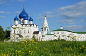 The Suzdal Kremlin. Golden Ring of Russia. — Stock Photo