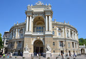 Odessa opera ve bale evi. — Stok fotoğraf