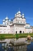 Rostov Kremlin. Golden Ring of Russia. — Stock Photo