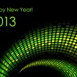 """Happy New Year """"snake"""" background (2013-year of the snake) — Stock Vector"""