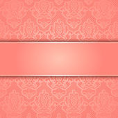 Vector lace background — Stock Vector