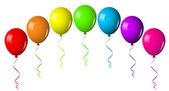 Vektorové ilustrace z balonu oblouk — Stock vektor