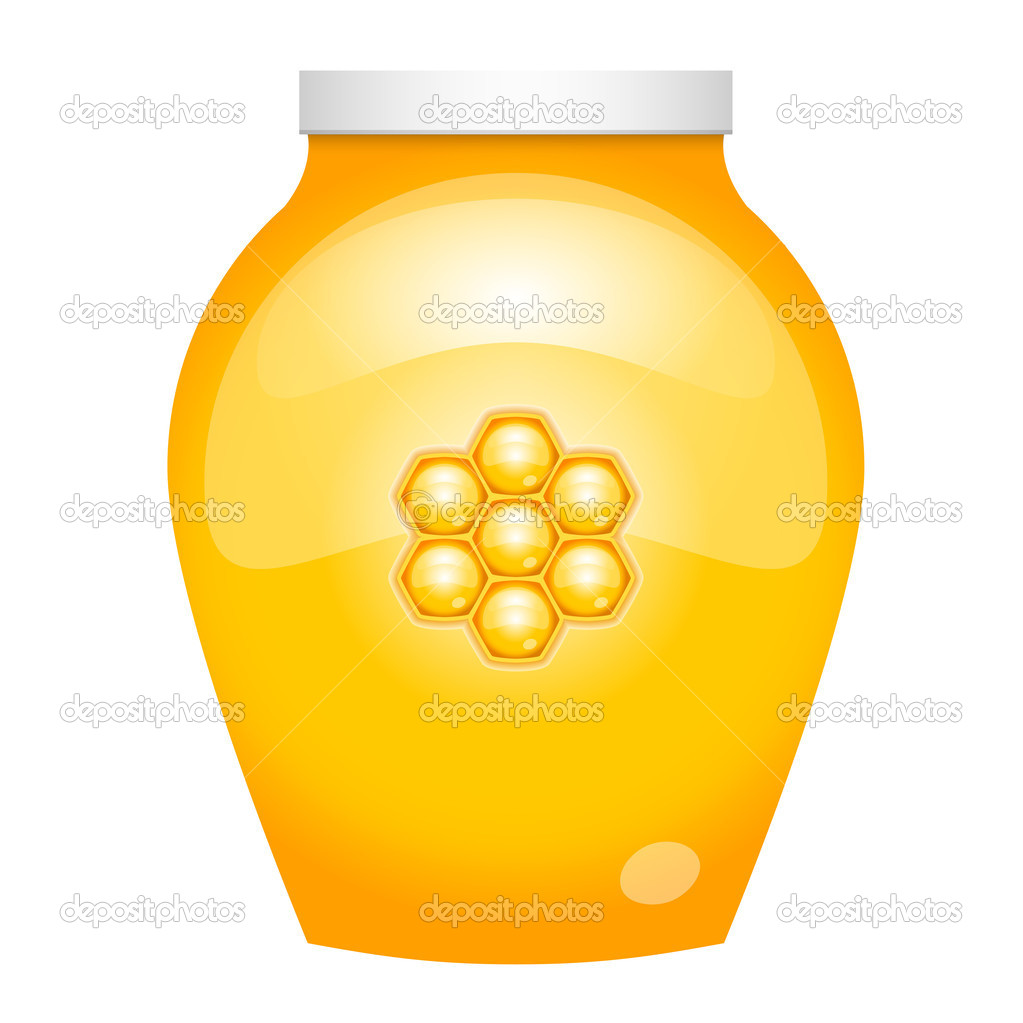 Vector illustration of honey — Stock Vector #11923539