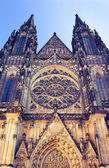 St. Vitus Cathedral. — Stockfoto