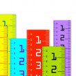 Millimeter and inch rulers — Stock Photo #11897651