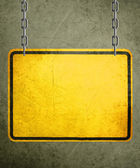 Yellow Sign — Foto de Stock