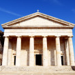 Stock Photo: Greek temple in Kerkyra