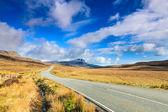 Road through a desolate landscape — Stock Photo