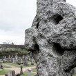 Celtic grave stone on graveyard — ストック写真 #12324482