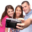 Royalty-Free Stock Photo: Happy taking picture of themselves