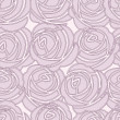 Seamless vector rose pattern — Stock Photo
