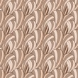 Brown abstract seamless pattern — Stockfoto