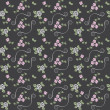 Photo: Beautiful seamless pattern with roses