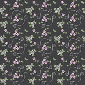 Beautiful seamless pattern with roses — Stockfoto
