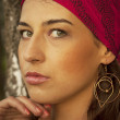 Gypsy woman. — Stock Photo