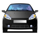 Black Car — Stock Vector