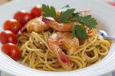 Spaghetti marinara — Stock Photo
