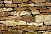 Dry Stone Wall or Dyke — Stock Photo