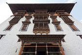 FACADE OF THE PARO RINPUN DZONG - BHUTAN — Stock Photo