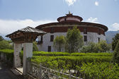 WATCHTOWER OF THE PARO RINPUN DZONG IN BHUTAN — Stock Photo