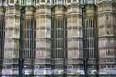 Windows of the Westminder Abbey in London — Stock Photo