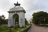 VICTORIA MEMORAL IN KOLKATA. (CALCUTTA) - INDIA — Stock Photo