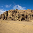 Wadi Rum Desert - South Jordan — Stock Photo