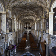 Stock Photo: CORONATION CHAPEL INTERIOR - FREDERIKSBORG SLOT - HILLEROD IN DENMARK