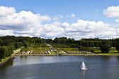Hillerod, danimarka frederiksborg yuvası kale bahçeleri — Stok fotoğraf