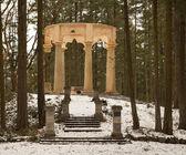 Afterglow Mausoleum — Stock Photo