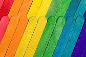 Coloured Sticks — Stock Photo