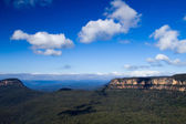 Blue Mountains Cliffs — Stock Photo