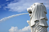 Il merlion park — Foto Stock
