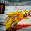 Dragon Boats at dock. — Stock Photo #11022479