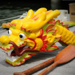 Dragon head of traditional boat — Stock Photo #11022561