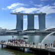 The Marina Bay Sands Resort Hotel — Stock Photo #11022719