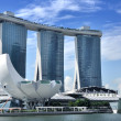 The Marina Bay Sands Resort Hotel — Stock Photo #11023078