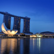 The Marina Bay Sands Resort Hotel — Stock Photo