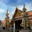 Demon Guardian Wat Phra Kaew Grand Palace Bangkok — Stock Photo