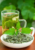 Nettle tea — Stock Photo
