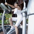 Exercising at the gym — Stock Photo #10744679