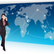 International trip for business — Stock Photo