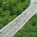 Roadway transportation — Stock Photo