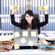 Powerful businesswoman at office — Stock Photo #11486112