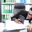 Young accountant — Stock Photo