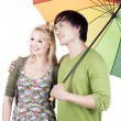 Happy young couple — Stock Photo #11635294
