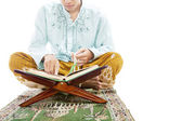 Learning to read quran — Stock Photo