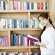 Stock Photo: Female librarian