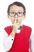 Hush, it is a secret — Stock Photo